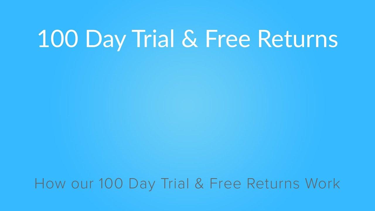 100 Day Trial Free Returns 4sleep Mattress
