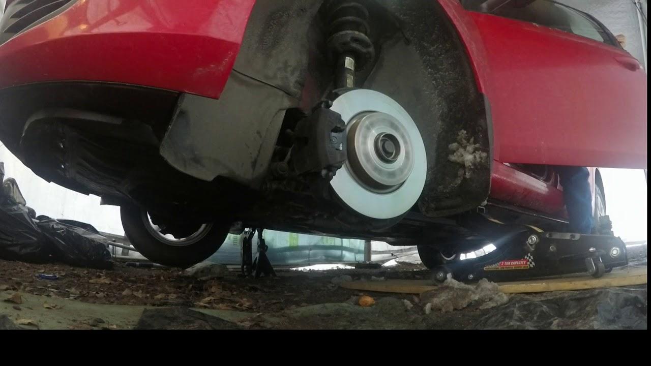 Golf 6 clunking noise is start when applying brake