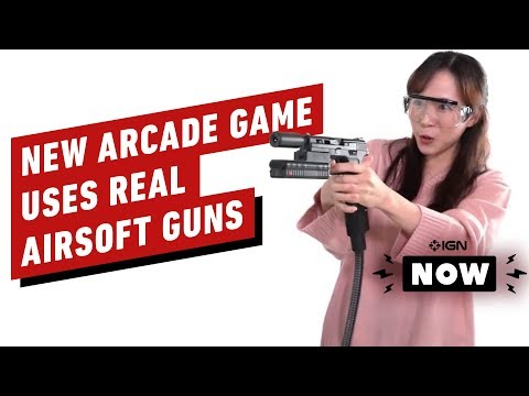 New Arcade Game Uses Real Airsoft BB Guns - IGN Now