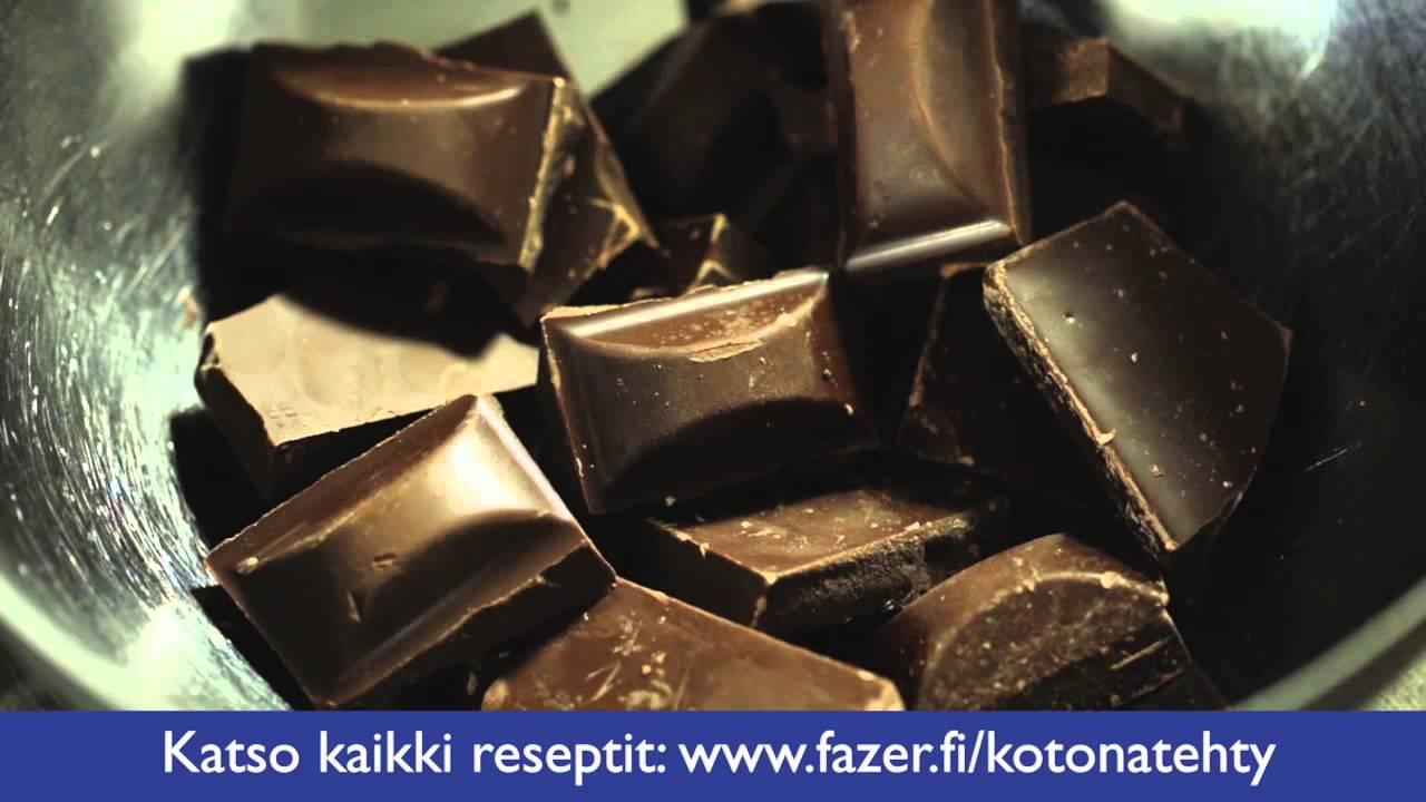 Suklaan Sulattaminen Vesihauteessa