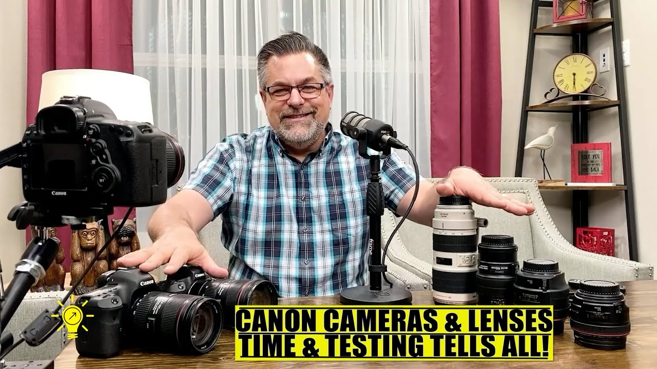 Three Generations of Canon Cameras and my thoughts!
