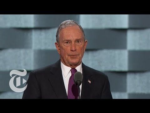 Michael Bloomberg Trashes Donald Trump | Democratic Convention | The New York Times
