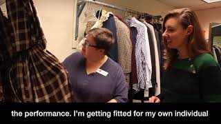 The Arts Page | Exclusive | Sandy Maxx's Costume Fitting with The Milwaukee Repertory Theater