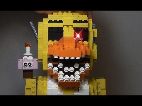 Lego five nights at freddy s nightmare chica new teaser youtube