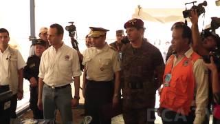 Presidente inaugura 10 campamentos del Sinaprese