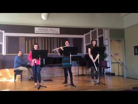 Flute Studio Recital 2015 (rehearsal) -