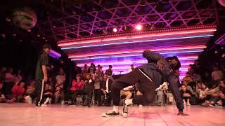 Atsuki vs BOUBOO @ HIPHOP FOREVER JAPAN 2017 SEMI-FINAL