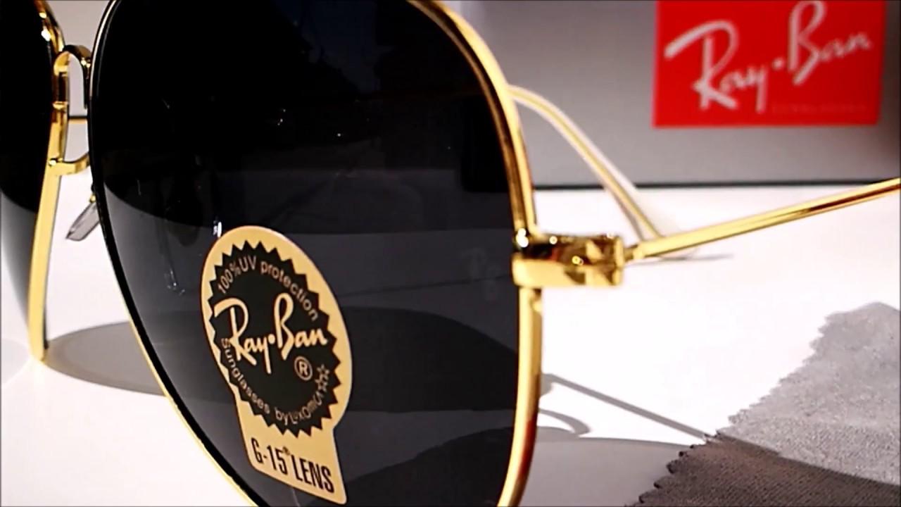 5d5a090547 gafas de sol rayban modelo aviator cajamarca online - YouTube