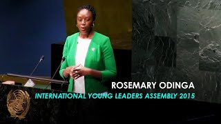 Rosemary Odinga | International Young Leaders Assembly 2015 | United Nations Headquarters