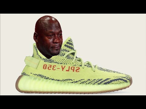 Release Day Drama of the YEEZY 350 V2 Semi Frozen Yellow Yebra + Hardest Yeezy to Buy Ever??