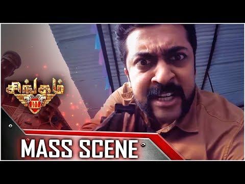 Singam 3 - Tamil Movie - Mass Scene | Surya | Anushka Shetty | Harris Jayaraj