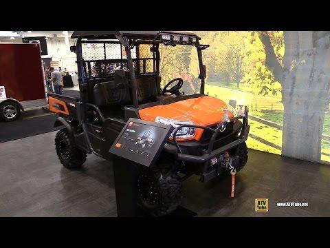 2017 Kubota RTV X1120 Diesel Utility ATV - Walkaround - 2016 Toronto ATV Show