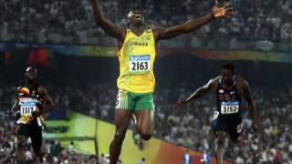 Usain Bolt Smashes 3 World Records! 100m (9.69) 200m 4x100m