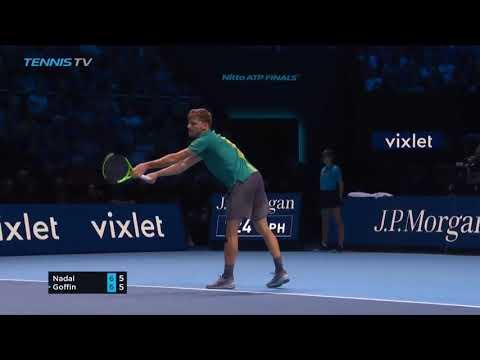 Rafael nadal vs david goffin atp finals 2017