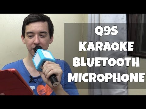 Bluetooth Karaoke Microphone Q9S MicGeek