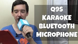 bluetooth karaoke microphone q9s micgeek