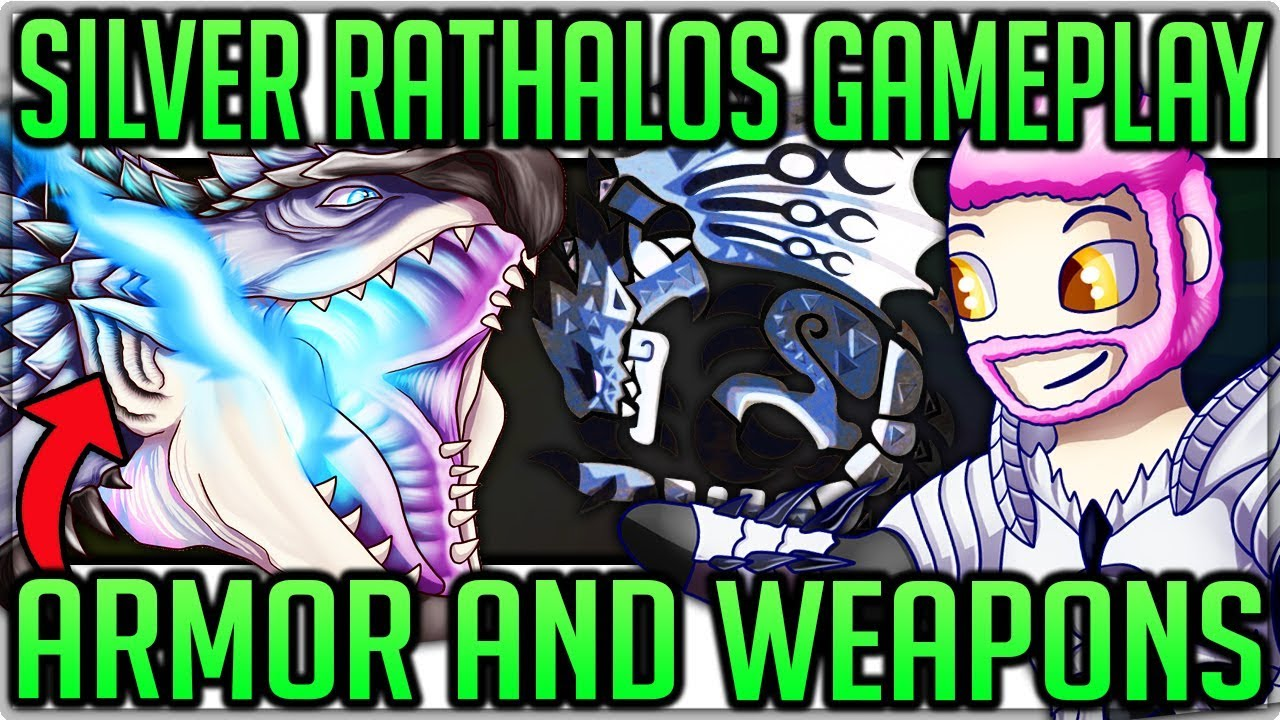 monster hunter stories silver rathalos armor