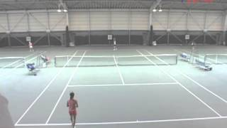 全国選抜ジュニアテニス選手権大会 U14C 準決勝 山崎香織 VS 牟田口恵美