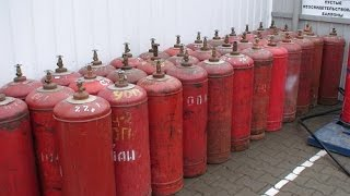 Разрезать и сварить газовый баллон ( How not to cut open a gas cylinder )(, 2015-08-08T21:38:03.000Z)