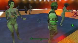 Fallout 4 XBOX strip club uncensored