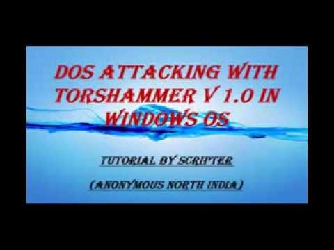 Tor's Hammer - Slow POST Denial Of Service Testing Tool