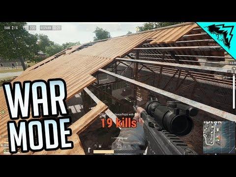 War Mode - PUBG Team Death Match (PlayerUnknown's Battlegrounds Highlights Gameplay)