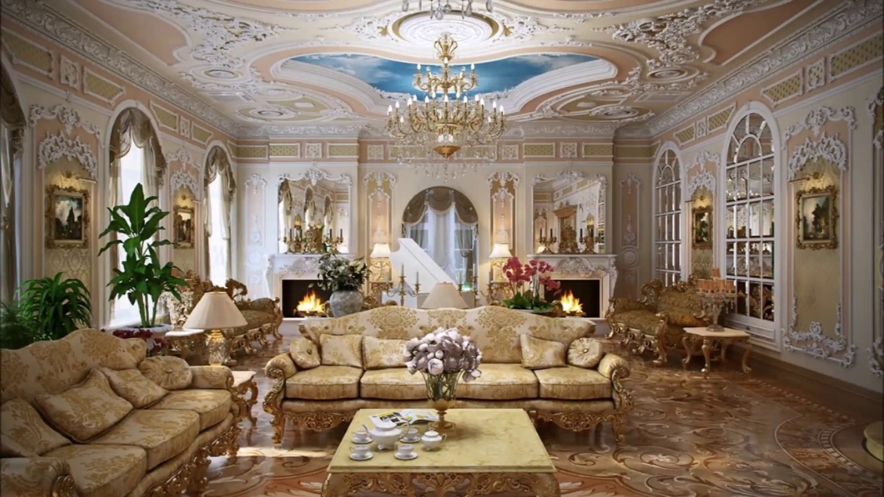 Rococo style louis xv louis xvi interior design for Casa interior design