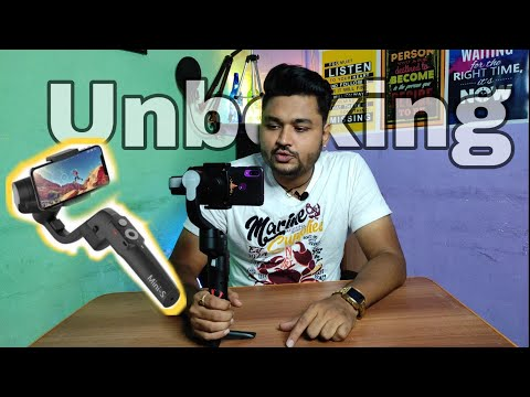 MOZA Mini S Essential Fold-able Smartphone Gimbal   Review   Unboxing