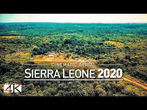 【4K】Drone Footage | SIERRA LEONE ..:: West Africa 2019