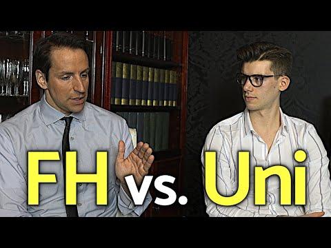 BWL Studieren: FH Vs. Uni (Dozent Erklärt Unterschiede)