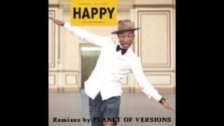 PHARRELL WILLIAMS: Happy (PLANET OF VERSIONS Ventricular Edit)