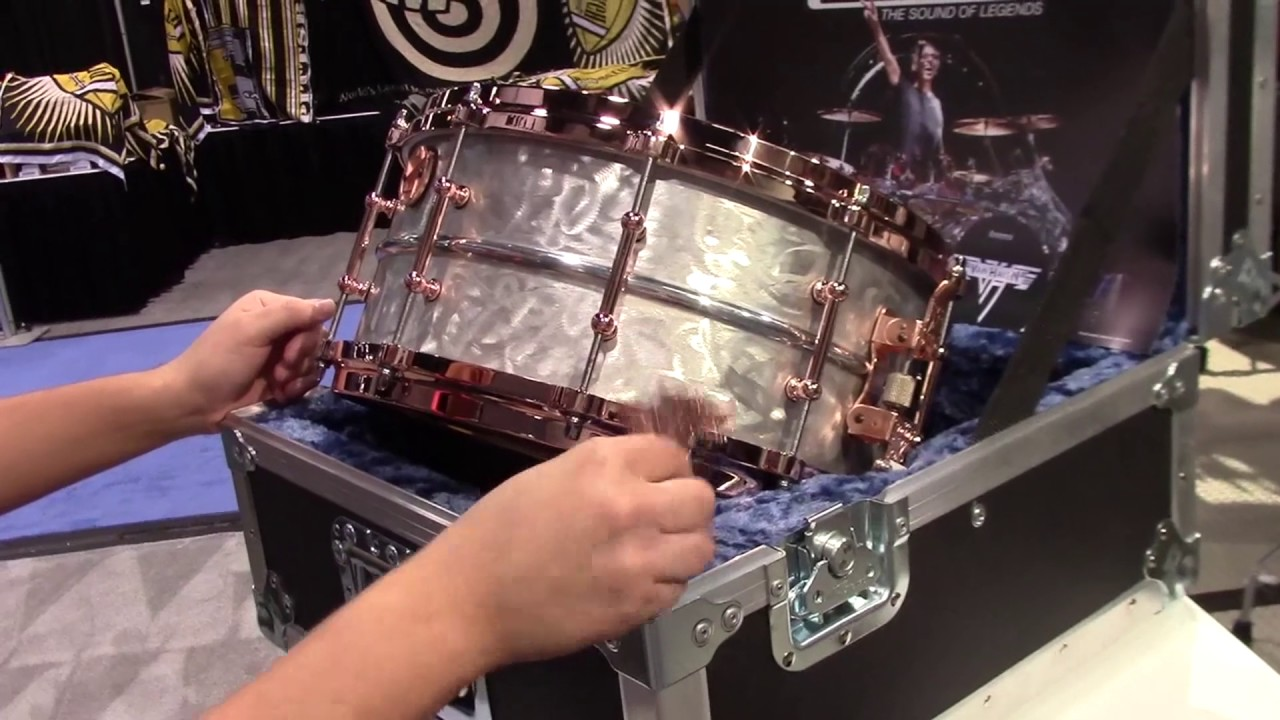 Limited Edition Alex Van Halen Signature Snare Youtube