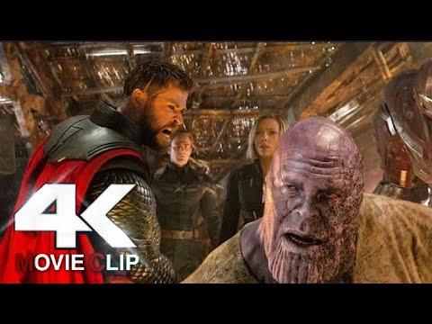 Download Thor Kills Thanos Scene Hindi  Avengers Endgame  Movie Clip HD  4K  iMAX
