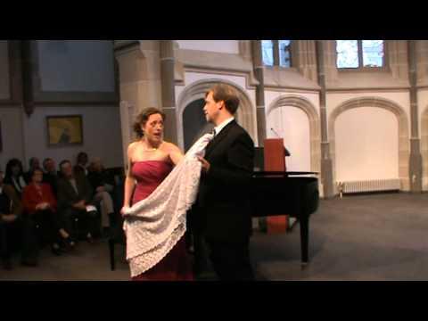 """W.A.Mozart """"Le nozze di Figaro"""" Duett Cinque...dieci...- Katja Becker & Tobias Hänschke"""