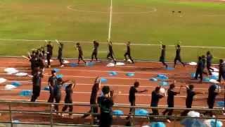 四社啦啦隊表演-藍社(2014陸運會)
