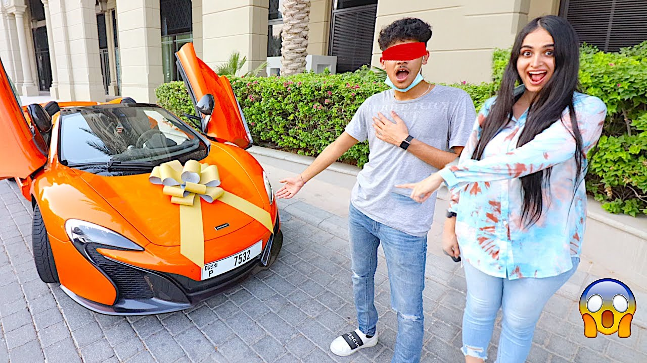 DUBAI'S RICHEST KID BIRTHDAY SURPRISE *$350,000 MCLAREN* !!!