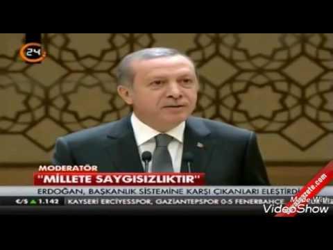 Erdoğan ' SEN KİMSİN YA ' LARI