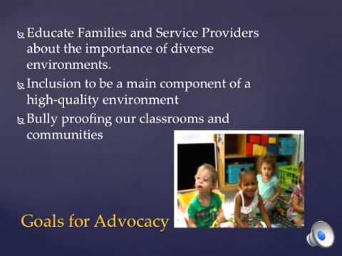 Inclusion In Early Childhood Education Youtube