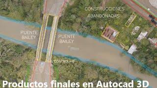 Topografía con drones: Curvas de nivel para diseño de carreteras
