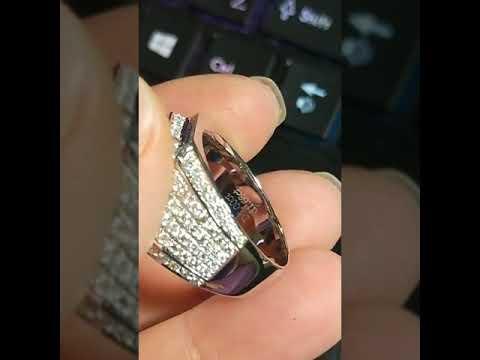 莫桑鑽寶實心18K摩星鑽D色5克拉配鑽小莫桑石3.5克拉不殺價75000極光火彩沈甸甸霸氣男鑽戒附證書保卡保證過測鑽筆