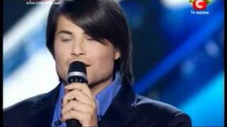 X factor.Vladimir Tkachenko.You Raise Me Up.