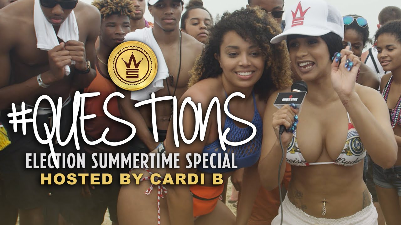 "WSHH Presents ""Questions"" Election Special Hosted by Cardi B!"