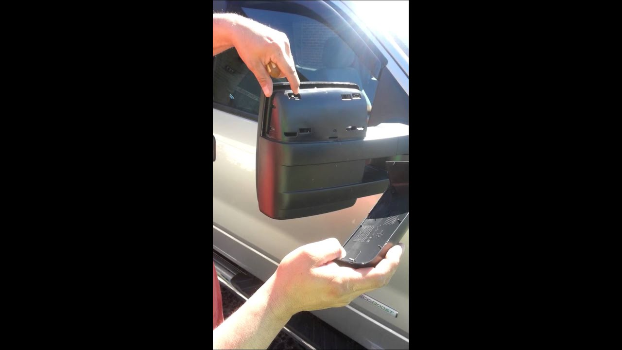 F Chrome Top Half Replacement Of Towing Mirror