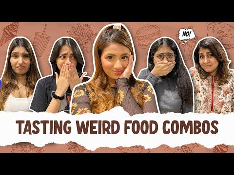 Tasting Weird Food