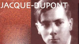 Jacques Dupont plays Chopin Scherzo No. 3 in C sharp minor Op. 39