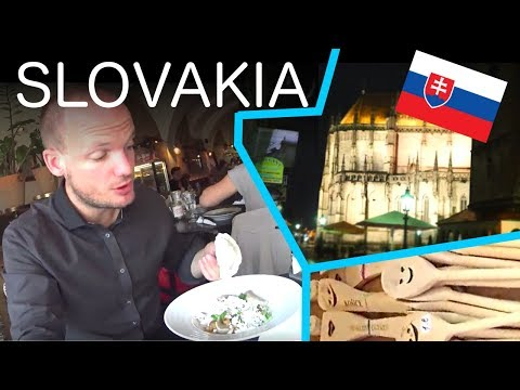 SLOVAKIA !! Take a walk in Kosice ! VLOG 08
