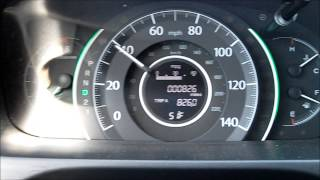 2012 Honda CRV Test Drive and Review