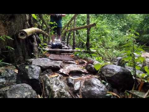 SJ RC  Bugtong Bato Falls, Tibiao Antique, Philippines 1 April 2017 Trail