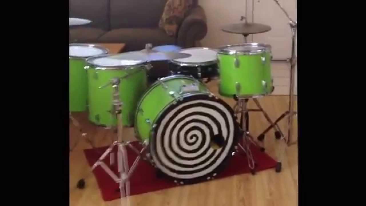 custom bass drum head youtube. Black Bedroom Furniture Sets. Home Design Ideas