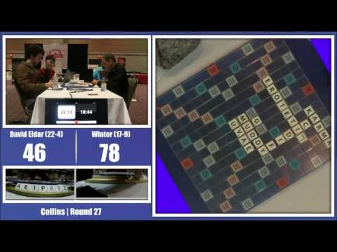 2016 North American Scrabble Championship Round 27